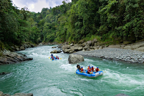 Pacuare River rafting, Costa Rica