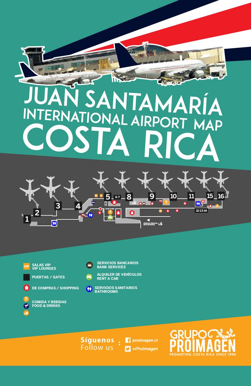 Juan Santamaria Airport Map Profi – Page 5 – Proimagen